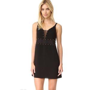 Cinq a Sept Carina Studded Mini Dress